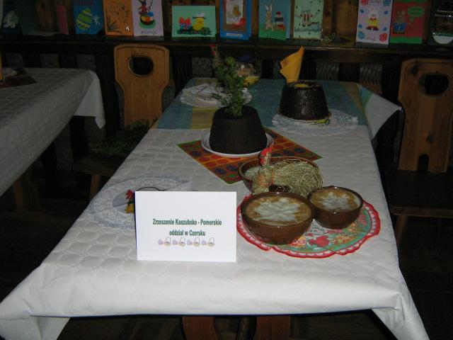 Czerski wielkanocny stół regionalny
