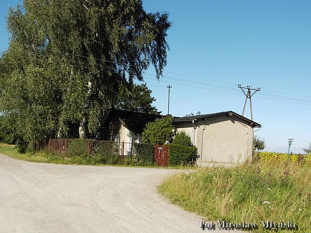 Stacja Nowa Wieś (Kościerska) Widok od Kościerzyny