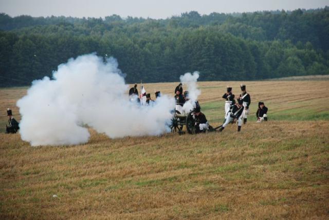 Będomin inscenizacja bitwy napoleońskiej na Kaszubach