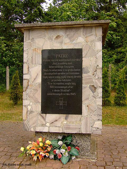 Pamięci ofiar Stutthofu
