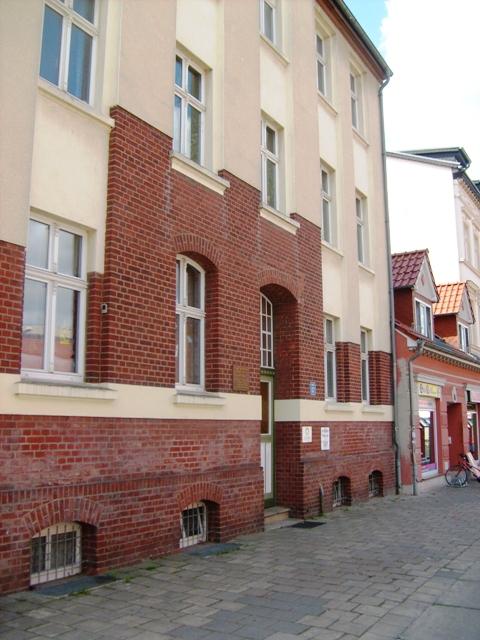 Gryfia/Greifswald - Dom w którym mieszkał A. Majkowski