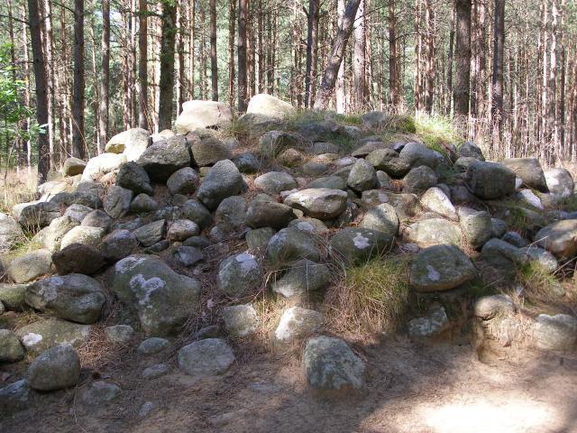 Kamienne kręgi w Wesiorach