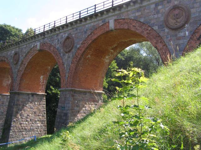 Most kolejowy w Bytowie