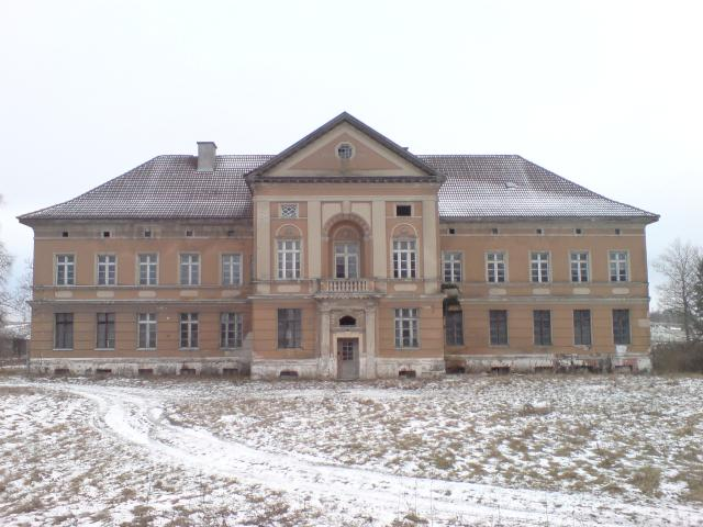 Pałac w Zdrzewnie.
