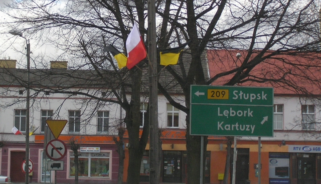 Bytów - flagi