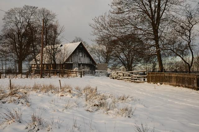Zima na Kaszubach