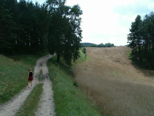 Droga Łączyński Młyn - Łączyno