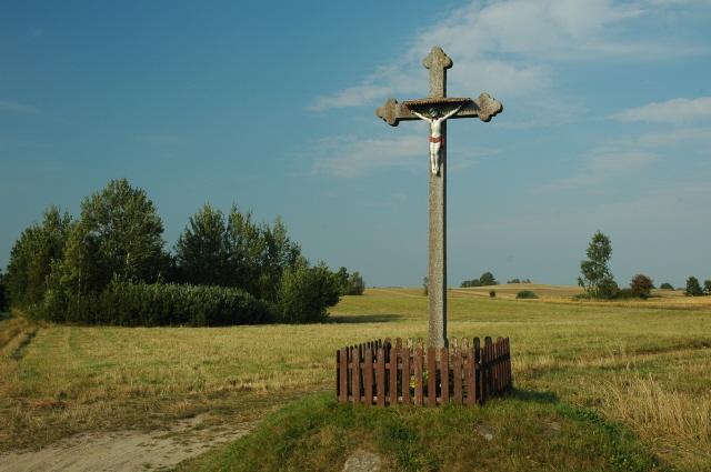 Przydrożny krzyż