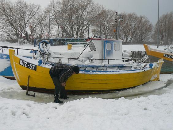 Kuźnica piękna o każdej porze roku..zima 2010