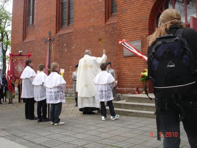 Tablica ku czci Augustyna Worzałły