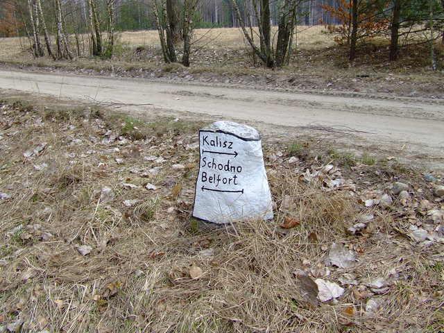 Kamienny drogowskaz