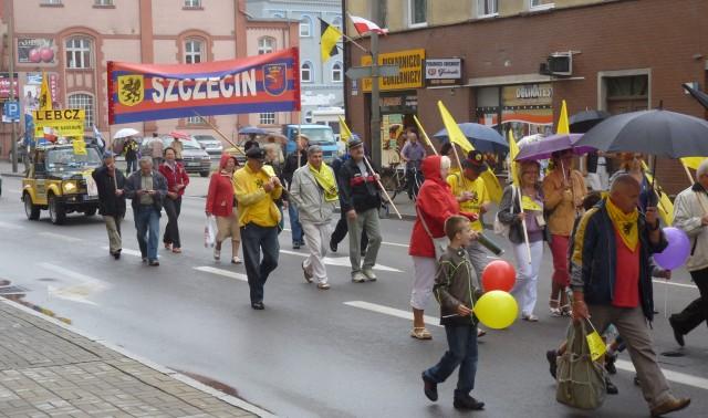 23.07.2011 XIII Zjazd Kaszubów Lębork: Pochód