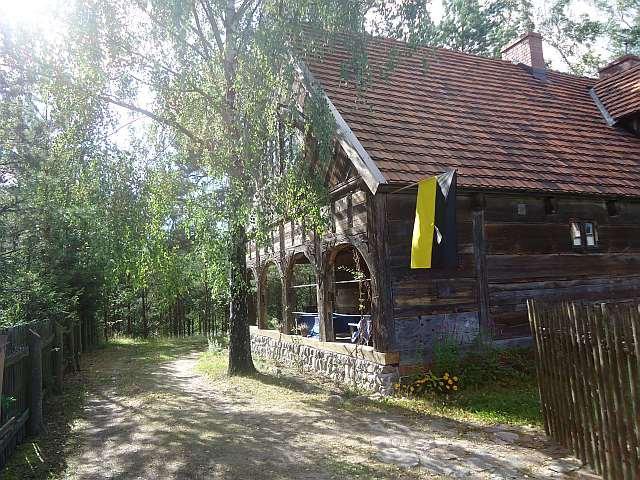 Zabytkowy dom w Lizakach