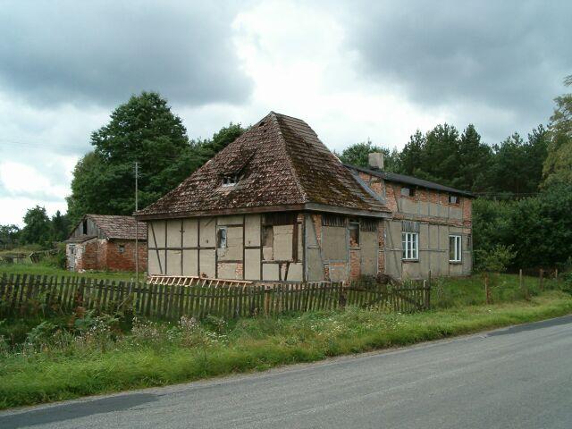 Dolina Jadwigi - Rokiciny - budynek niemiecki