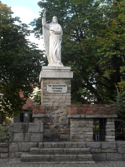 Sw. Magòrzata - patrónka Tëchòlë