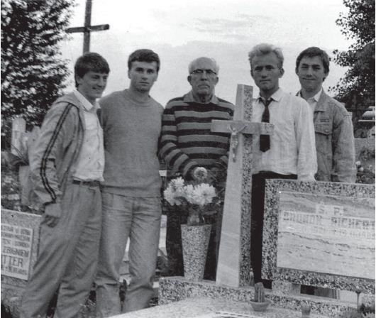 Ks. Grucza i redaktorzy Tatczëznë