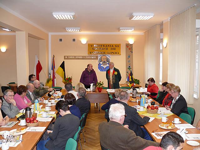 Zbigniew Talewski inauguruje V Spotkania na Gochach