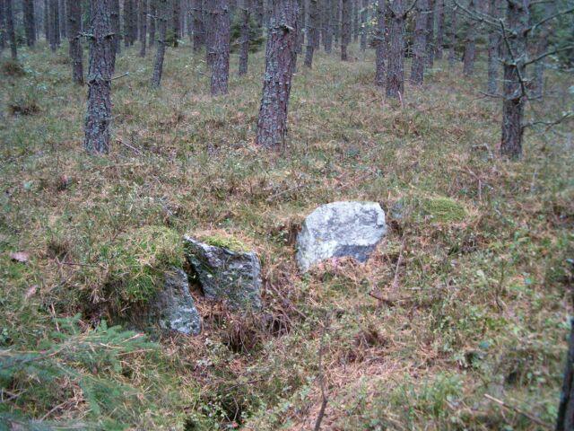 Obiekt w okolicy stanowiska Ł24 (2)