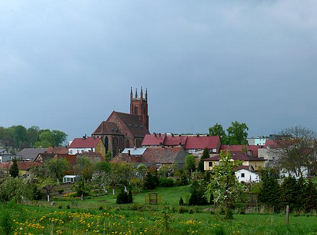 Panorama miasta od strony wschodniej