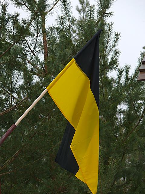Pod czarno-żółtymi barwami