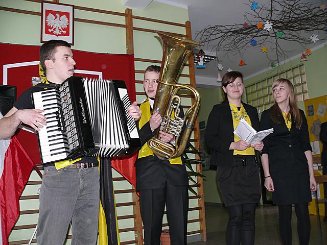 Licealiści z Brus na współczesną nutę