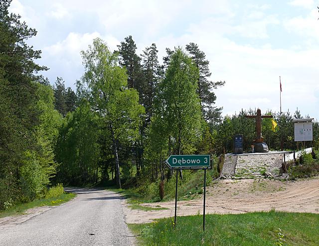 Droga z Borowego Młyna do Wierzchociny