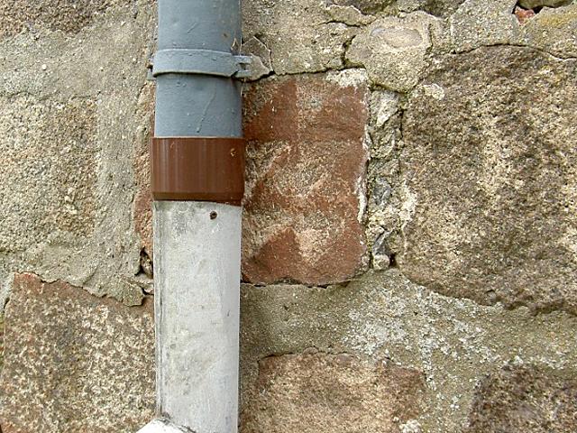 Szachownica ze ściany kościoła w Godkowie