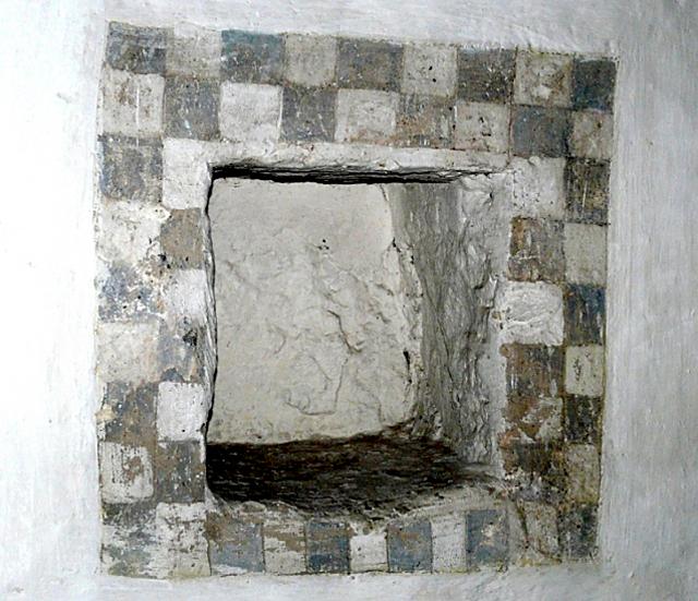Kolejna średniowieczna szachownica z kościoła w Moryniu