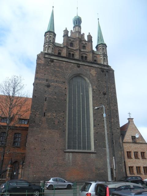 Gdóńskò-Przedmieszczé. Kòscół Sw. Trójcë 1433 (1)