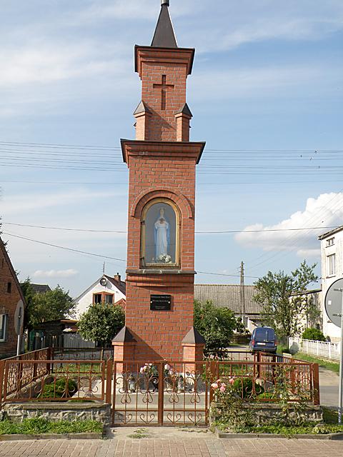 Kapliczka przydrożna - Konarzyny