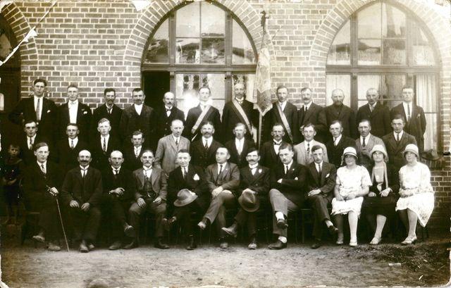 Borowy Młyn 1928 rok