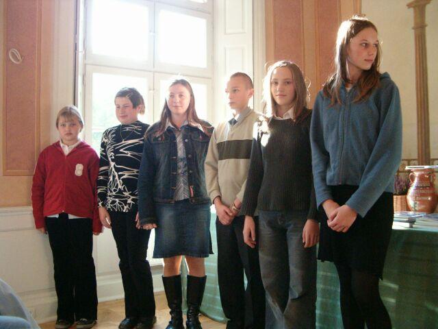 Laureaci w kategorii uczniów