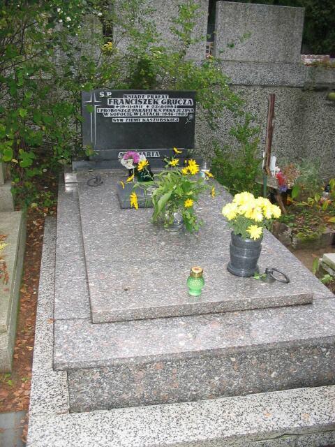 ks. Franciszek Grucza - dawny grób
