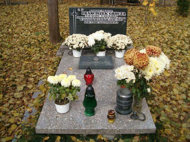 ks. Franciszek Grucza - nowy grób