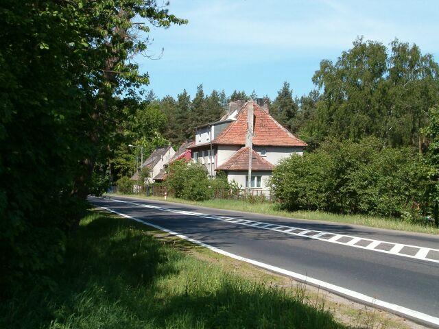 Strzebielino - Bożepole - budynek niemiecki