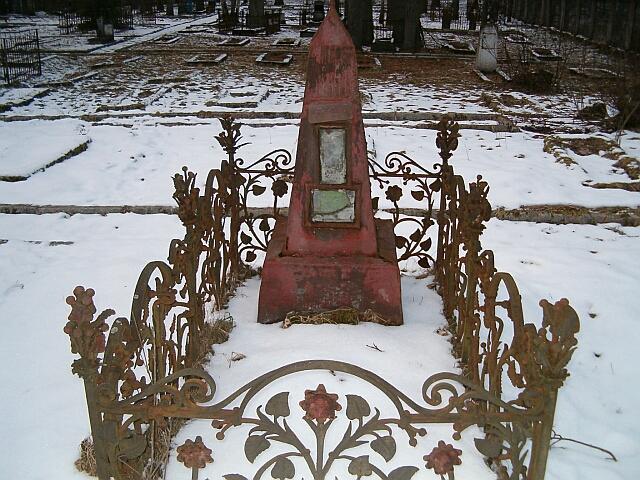Cmentarz - niemiecko-rosyjski grób (2557)