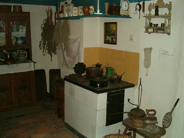 Wnętrze chaty rybackiej - kuchnia (2617)