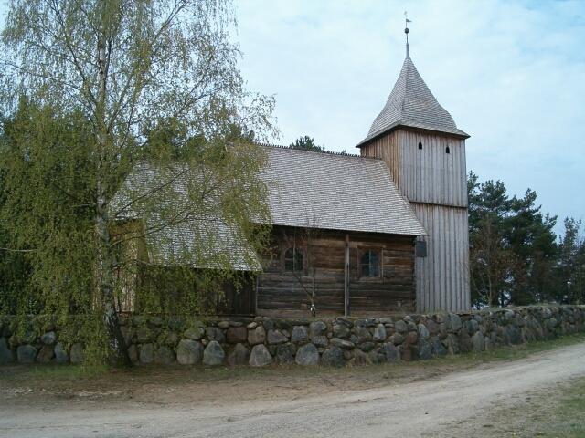 Wdzydze. Kościół św. Barbary (2940)