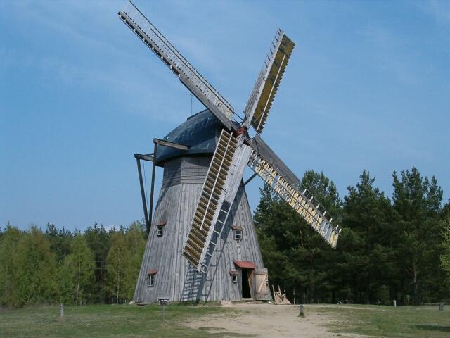 Wiatrak holenderski z Brus (2988)