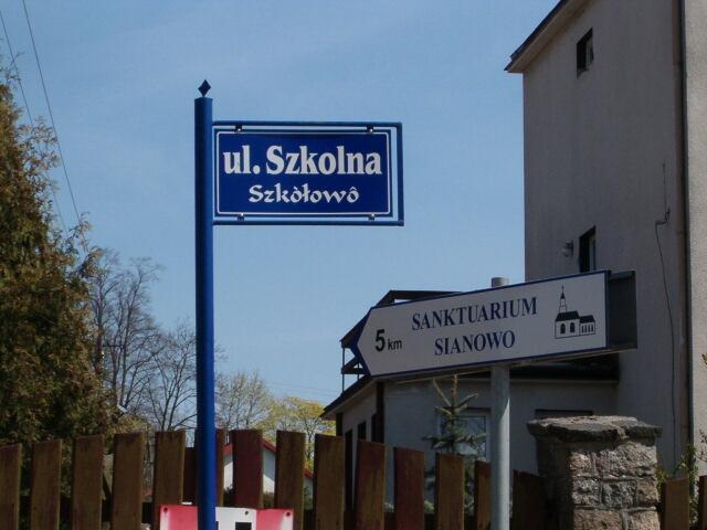 ul. Szkolna - Szkòłowô (2899)