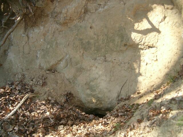 Gdynia. Jaskinia Śpiącego Szweda - wejście (2717)
