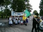Zjazd Kaszubów w Kościerzynie. Przemarsz (3427)