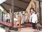 Zjazd Kaszubów w Kościerzynie. Msza św. (3456)