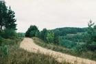 Pozostałości kolejki przemysłowej Łączyno-Mojusz