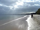 Samotność na plaży