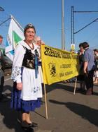 Łeba. VII Zjazd Kaszubów