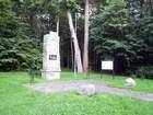 Świecino - pomnik i tablica informacyjna