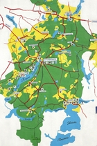 Studzienice - mapa
