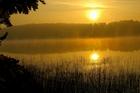 Studzienice - jezioro o poranku-01