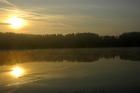 Studzienice - jezioro o poranku-02